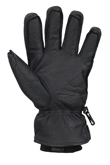 Men's Basic Ski Gloves, Black, medium