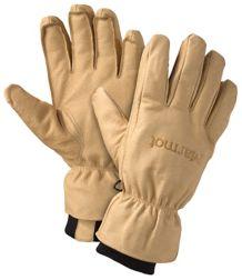 Basic Ski Glove, Tan, medium