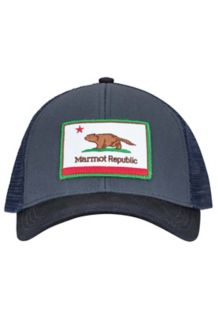 Marmot Republic Trucker, Steel Onyx, medium