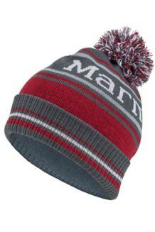 Retro Pom Hat, Slate Grey, medium