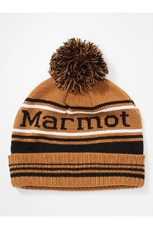 Retro Pom Hat, Scotch/Black, medium