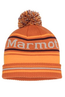 Men's Retro Pom Hat, Hawaiian Sunset/Ember, medium