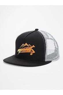 Marmot Trucker Hat, Black/White, medium