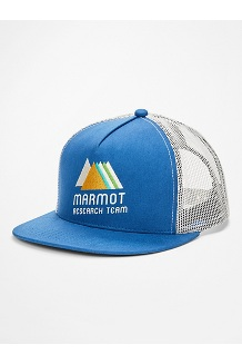 Marmot Trucker Hat, Varsity Blue/Moonbeam, medium