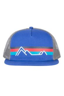 Marmot Trucker Hat, Surf/Arctic Navy, medium