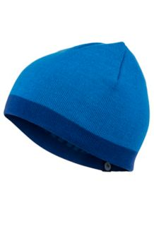 Reversible Retro Beanie, Dark Cerulean, medium