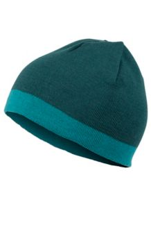Reversible Retro Beanie, Mallard Green, medium