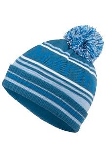 Boys' Retro Pom Hat, Sapphire, medium