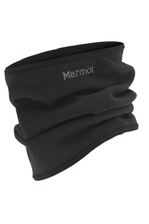 Neck Gaiter, Black, medium