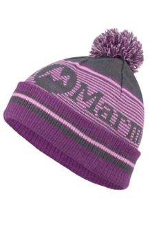 Wm's Foxy Pom Hat, Dark Steel, medium