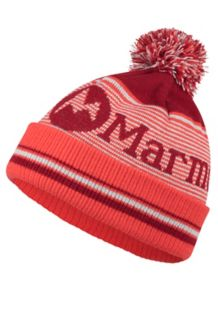 Wm's Foxy Pom Hat, Sienna Red, medium
