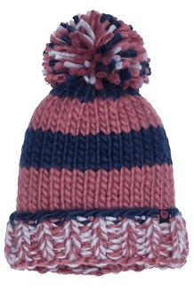 Women's CC Girl Hat, Dry Rose/Arctic Navy, medium