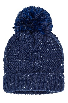 Women's Monica Hat, Arctic Navy/White, medium