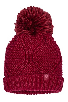 Women's Monica Hat, Claret/Dry Rose, medium