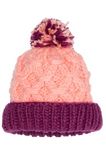 Girls' Harper Hat, Spritzer/Purple Berry, medium
