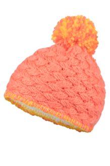 Girl's Denise Hat, Living Coral, medium
