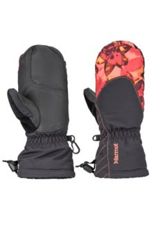 Girl's Glade Mitt, Desert Red Floral, medium