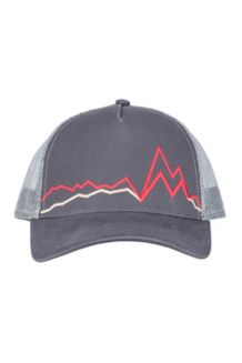 Peak Bagger Cap, Dark Steel/Blush, medium