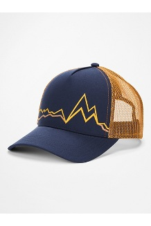 Peak Bagger Cap, Arctic Navy/Scotch, medium