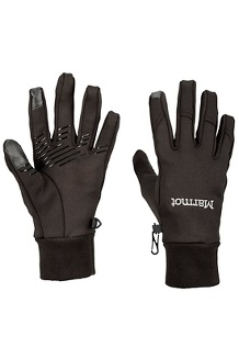 Women's Connect Glove, Black, medium