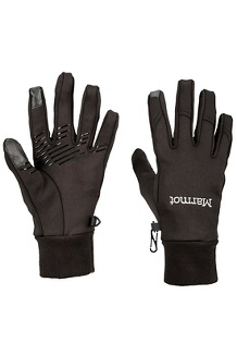 Women's Connect Glove, Black, medium