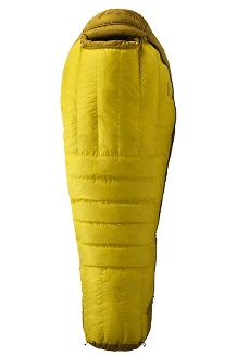 Col -20° Sleeping Bag - Long, Yellow Vapor/Green Wheat, medium