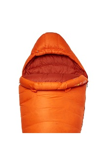 Lithium 0° Sleeping Bag, Blaze/Dark Rust, medium