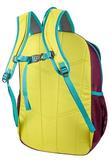 Kids' Arbor Pack, Green Spice/Deep Purple, medium