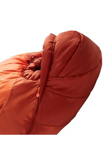 Trestles 0° Sleeping Bag, Orange Haze/Dark Rust, medium