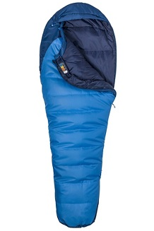 Trestles 15° Sleeping Bag - Long X Wide, Cobalt Blue/Blue Night, medium