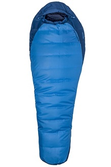 Trestles 15° Sleeping Bag - Long, Cobalt Blue/Blue Night, medium