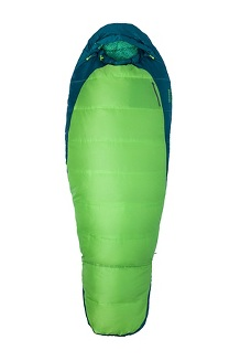 Women's Trestles 30° Sleeping Bag - Long, Greenery/Deep Teal, medium