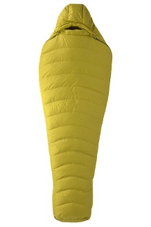 Hydrogen 30° Sleeping Bag, Dark Citron/Olive, medium