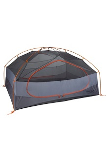 Limelight 3-Person Tent, Cinder/Rusted Orange, medium