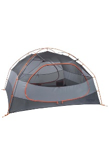 Limelight 4-Person Tent, Cinder/Rusted Orange, medium