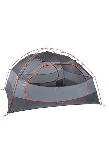 Limelight 4-Person Tent, Cinder/Rusted Orange, medium