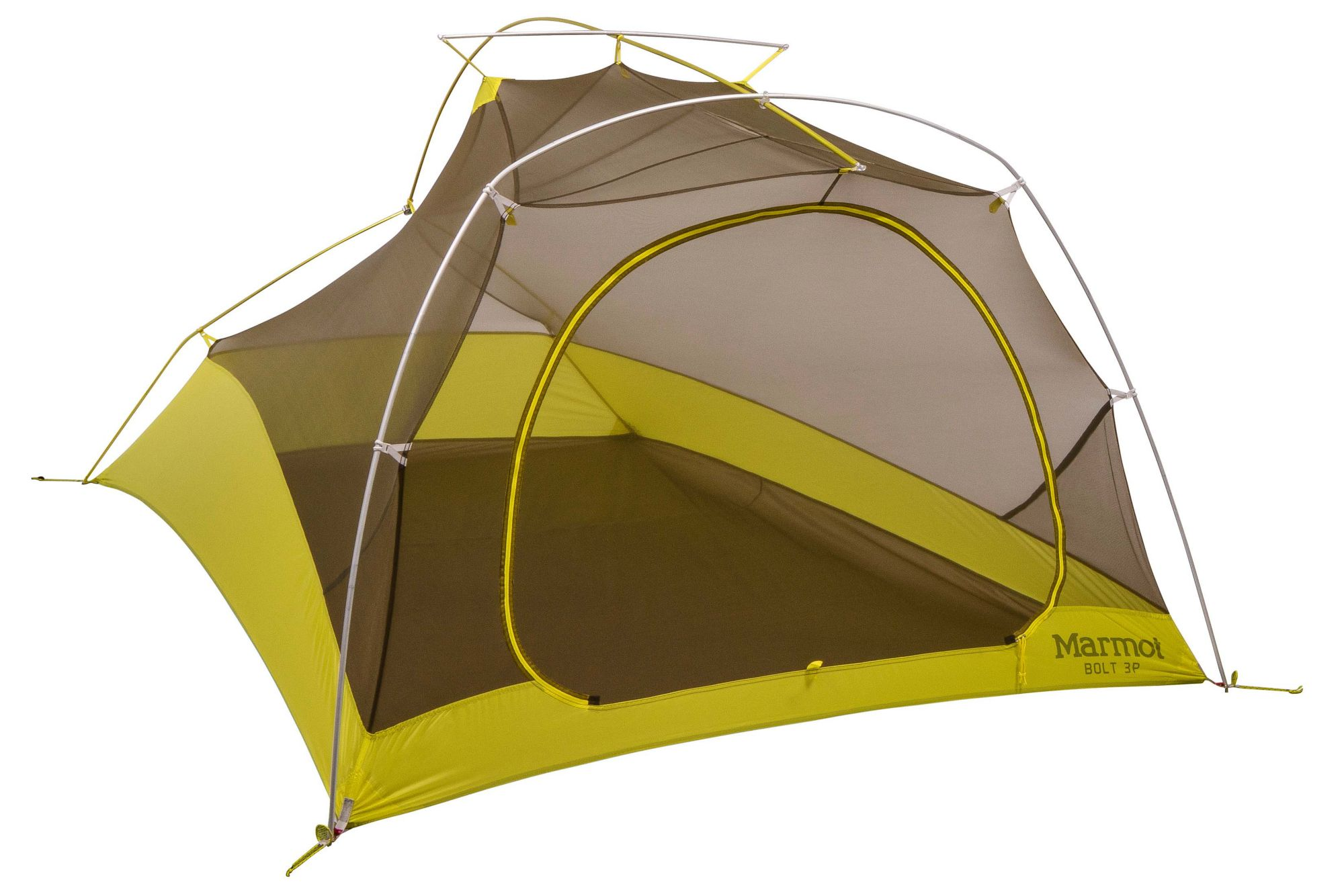 Ultralight Tents. Bolt 3P Dark Citron/Citronelle medium  sc 1 st  Marmot & Ultralight Tents