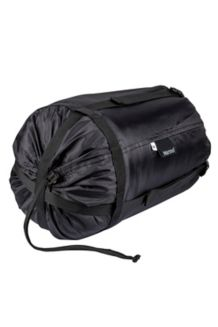 Medium Compression Stuff Sack, Black, medium