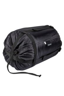 Large Compression Stuff Sack, Black, medium