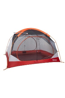 Limestone 4-Person Tent, Orange Spice/Arona, medium