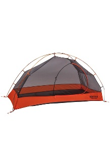 Tungsten 1-Person Tent, Blaze/Steel, medium