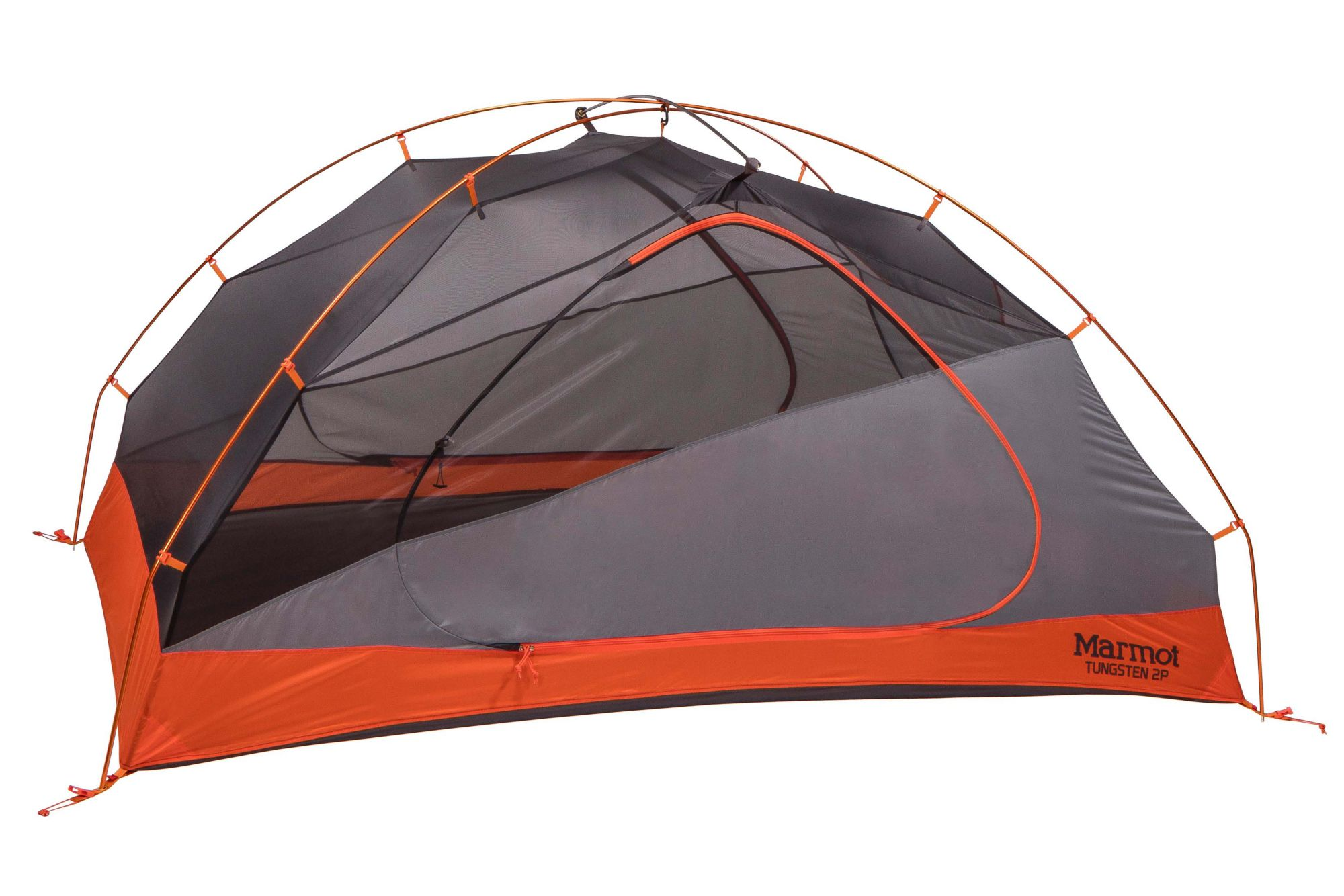 Tungsten 2-Person Tent, Blaze/Steel, large