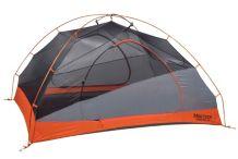 Tungsten 3-Person Tent, Blaze/Steel, medium