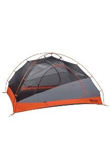 Tungsten 3-Person Tent, Blaze/Steel, medium