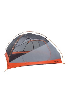 Tungsten 4-Person Tent, Blaze/Steel, medium