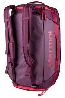 Long Hauler Duffel - Medium, Dark Purple/Brick, medium