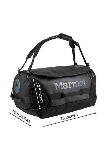 Long Hauler Duffel - Medium, Dark Charcoal/Blue Tint, medium