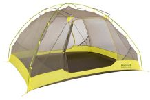 Tungsten Ultralight 4-Person Tent, Dark Citron/Citronelle, medium