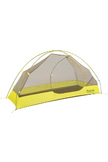 Tungsten Ultralight 1-Person Tent, Dark Citron/Citronelle, medium