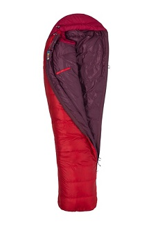 Always Summer 40° Sleeping Bag - Long, Team Red/Sienna Red, medium